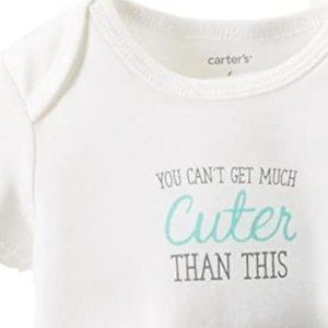 ** 8 for $25 ** Carter's You Can't Get Much Cuter